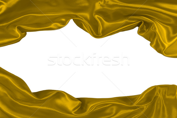 golden fabric Stock photo © Marcogovel