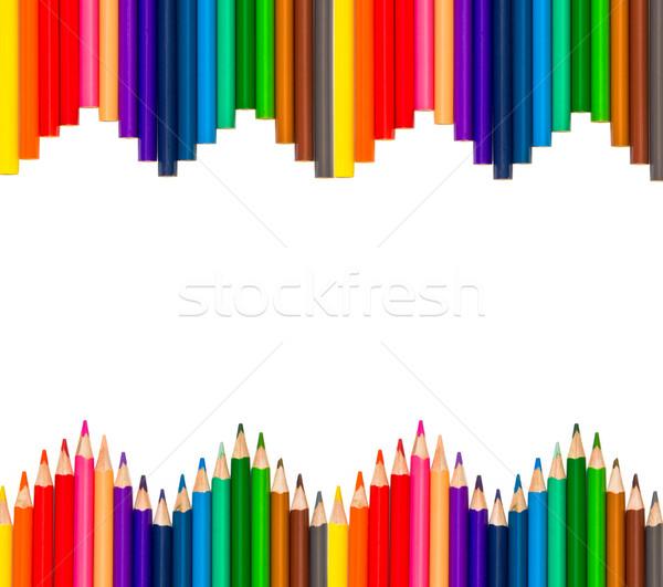 color pencils Stock photo © Marcogovel