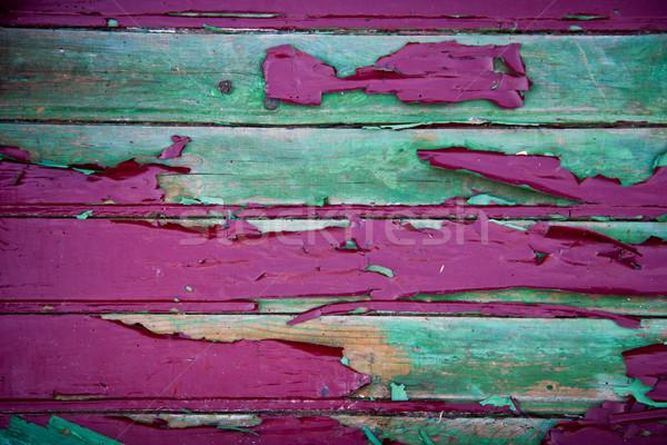 Peinture la texture du bois texture bois design fond Photo stock © Marcogovel