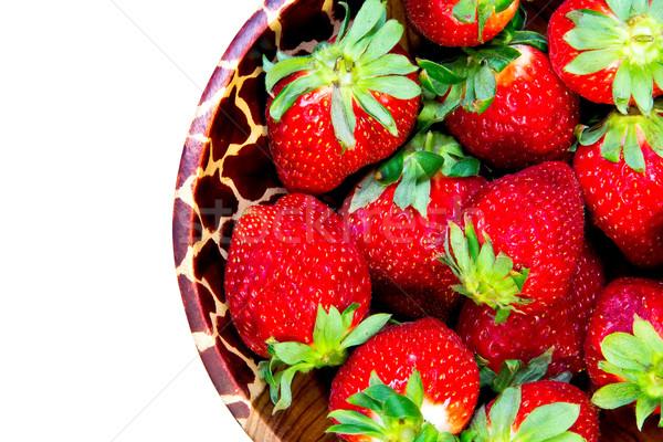 strawberries Stock photo © Marcogovel