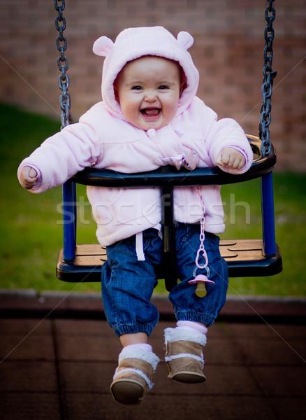 baby portrait Stock photo © Marcogovel
