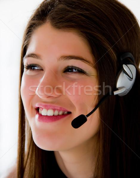 Call center operator business  Stock photo © Marcogovel