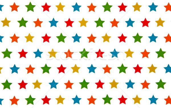 étoiles texture blanche fête résumé anniversaire Photo stock © Marcogovel