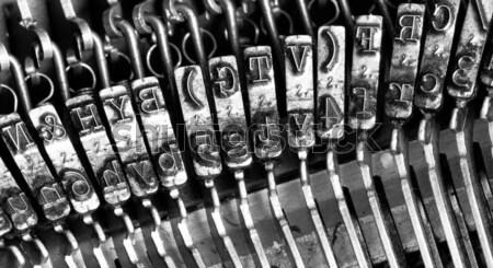 typewriter symbols Stock photo © Marcogovel