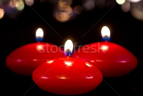 christmas candles Stock photo © Marcogovel