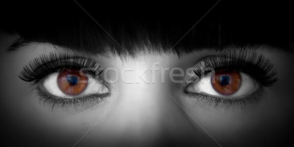 woman eyes Stock photo © Marcogovel