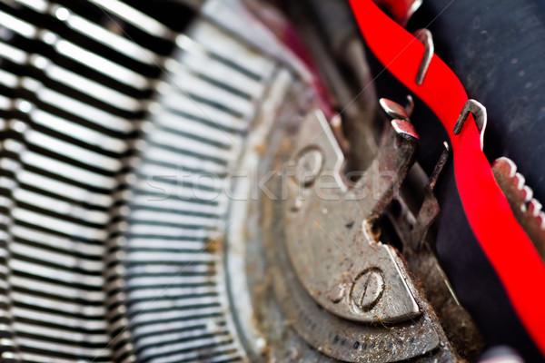 typewriter detail Stock photo © Marcogovel