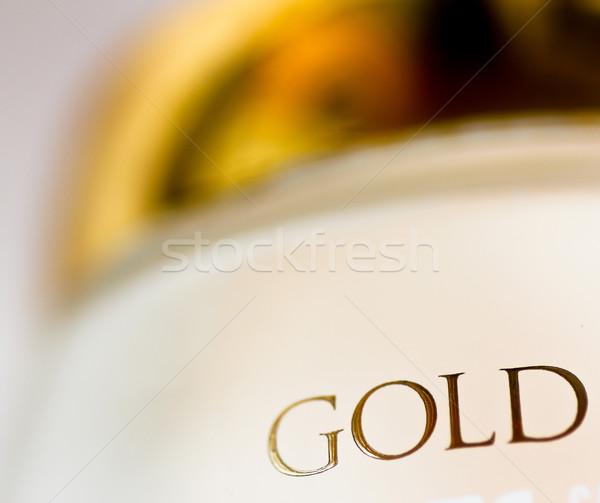 Gold Text Stock photo © Marcogovel