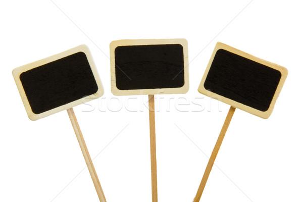 black boards Stock photo © Marcogovel