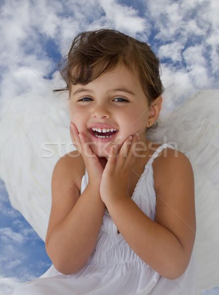 little angel Stock photo © Marcogovel