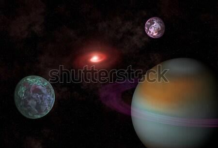 planets Stock photo © Marcogovel