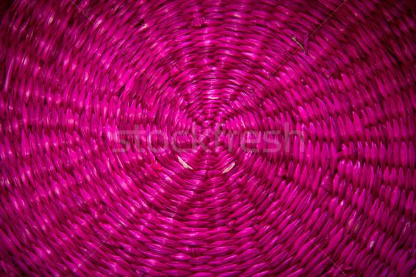 wicker texture Stock photo © Marcogovel