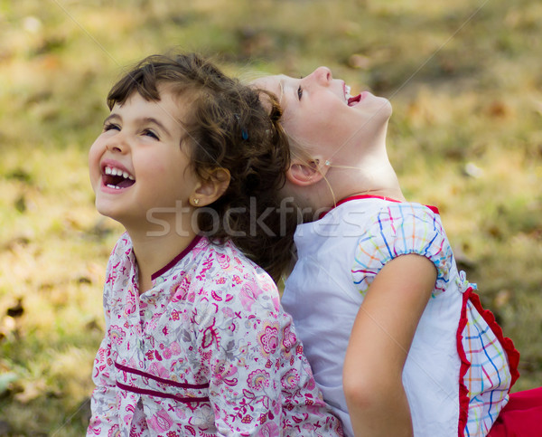 kids portrait Stock photo © Marcogovel