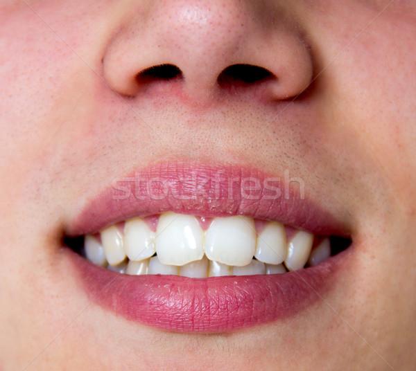 mouth Stock photo © Marcogovel