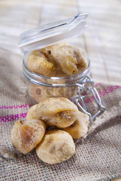 Seasonal Fruit, Dried Figs Stock photo © marcoguidiph