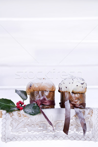 Zoete christmas cake typisch noordelijk Italië Stockfoto © marcoguidiph