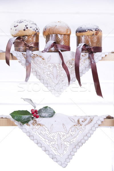 Sweet Christmas, Panettone Stock photo © marcoguidiph