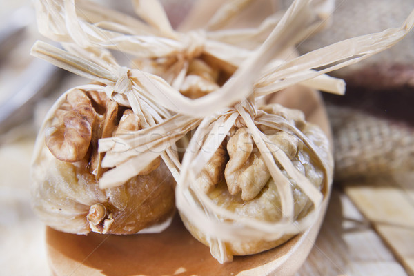 ナッツ 食品 豊富な カロリー ストックフォト © marcoguidiph