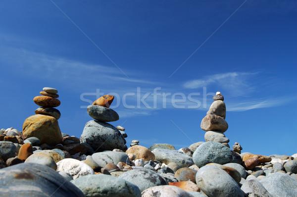 rocks in the balance Stock photo © marcopolo9442