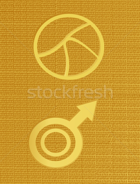 Crop Cirlces I Stock photo © marcopolo9442