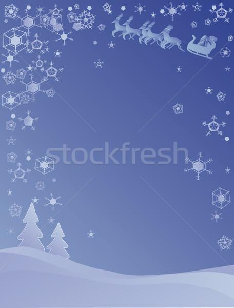 Christmas scene Stock photo © marcopolo9442