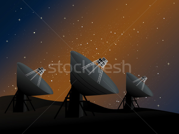 Radio Astronomy Stock photo © marcopolo9442