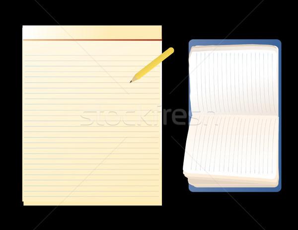 Notebooks Stock photo © marcopolo9442