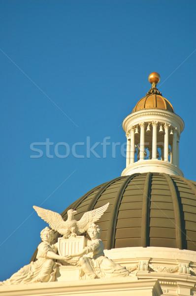 Felső Kalifornia épület megvilágított délután nap Stock fotó © marcopolo9442