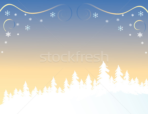 Forest in Winter Stock photo © marcopolo9442