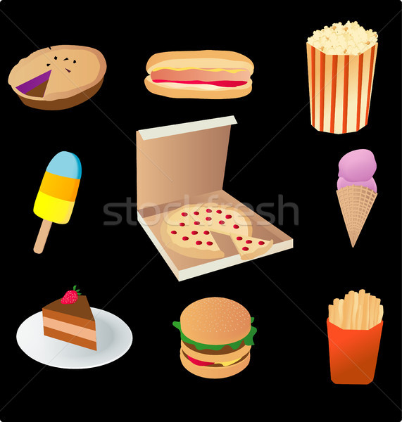 junk food Stock photo © marcopolo9442