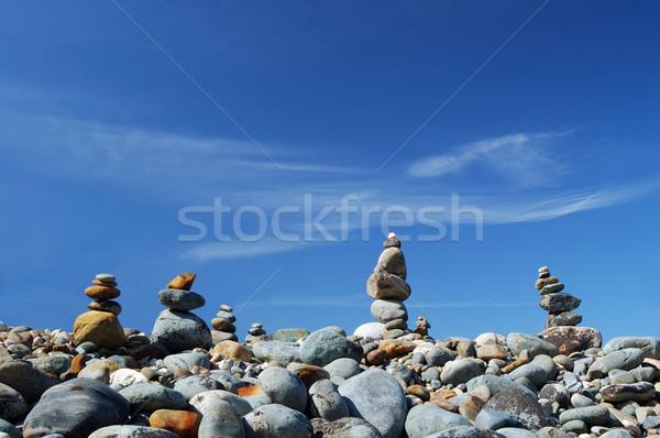 rock piles Stock photo © marcopolo9442