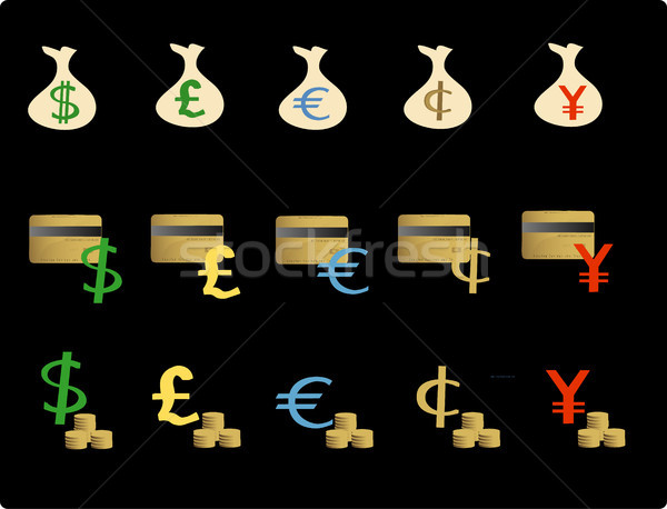 Financial objects Stock photo © marcopolo9442