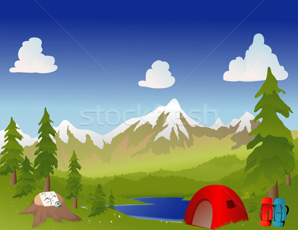Camping Stock photo © marcopolo9442