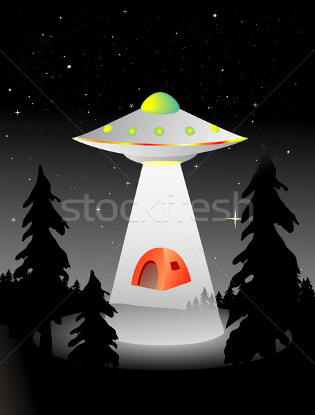 alien abduction Stock photo © marcopolo9442