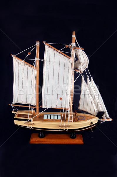 model boat Stock photo © marcopolo9442