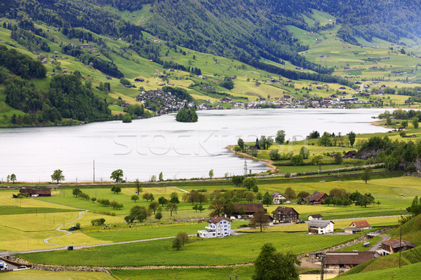The beauty of the Swiss landscape  Stock photo © marekusz