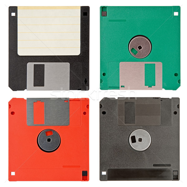 four floppy discs Stock photo © marekusz