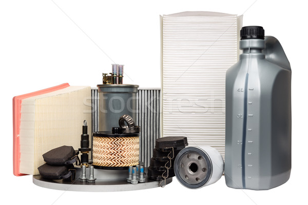Various automotive spare parts Stock photo © marekusz