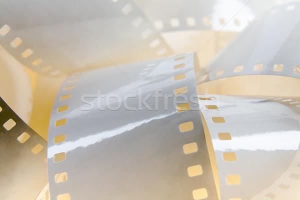 белый фильма 35мм фон фильма ретро Сток-фото © marekusz