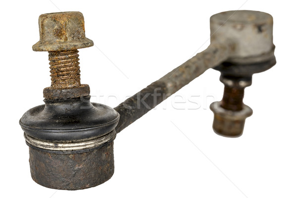 Old and rusty stabilizer link Stock photo © marekusz