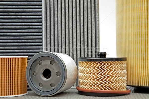 various car filters  Stock photo © marekusz