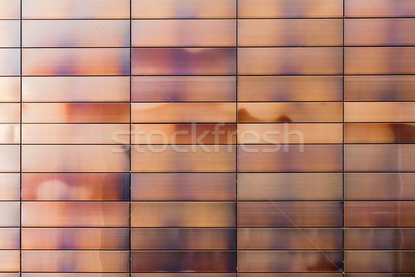 Pormenor edifício moderno metal interessante industrial Foto stock © marekusz