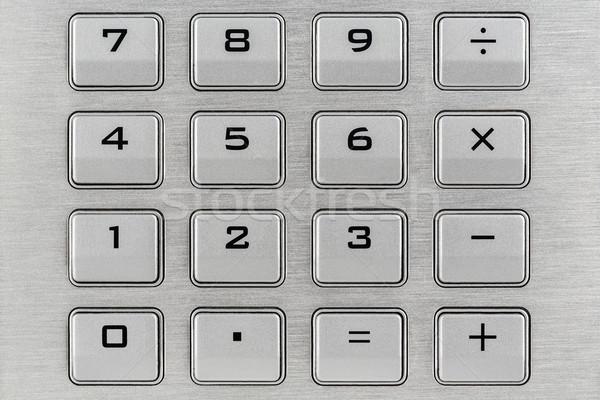Calculator keypad Stock photo © marekusz