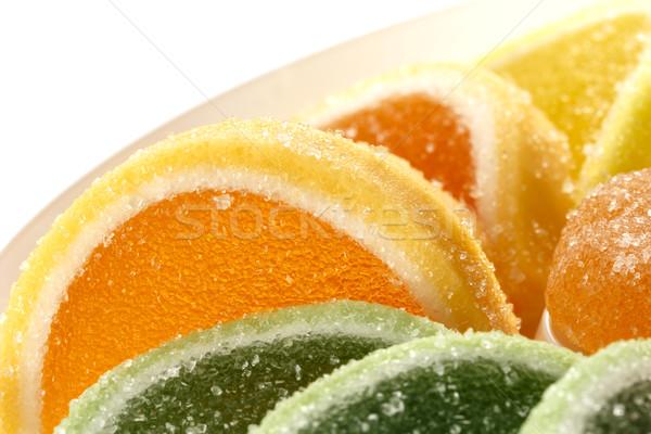 сладкие блюда кондитерские изделия продукт красочный желе конфеты Сток-фото © marekusz