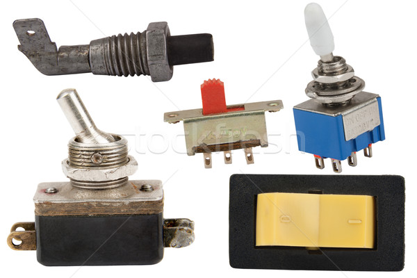 various switches Stock photo © marekusz