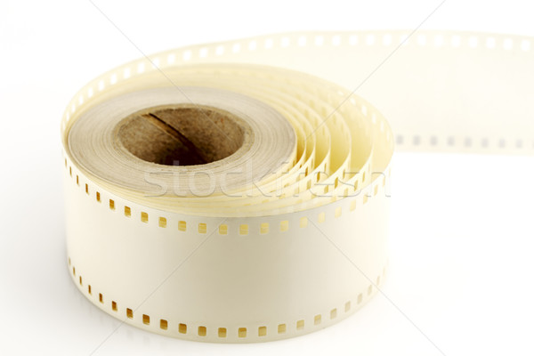 Mounting tape to 35mm film Stock photo © marekusz