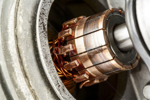 Felfelé zárt elektromos motor használt vezetés Stock fotó © marekusz