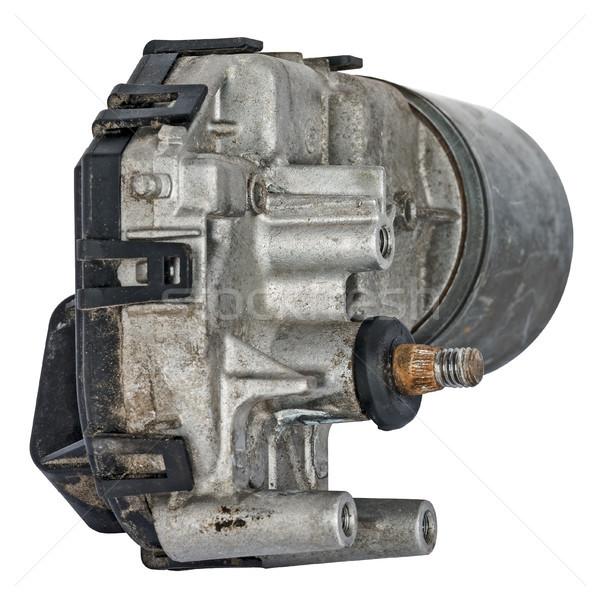 Motor vezetés mechanizmus elnyűtt ki fém Stock fotó © marekusz