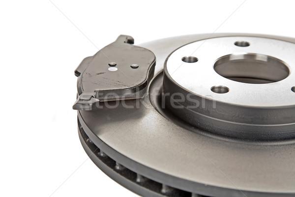 brake disk and one brake pad Stock photo © marekusz