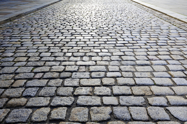 Cobbled Road Stock photo © marekusz